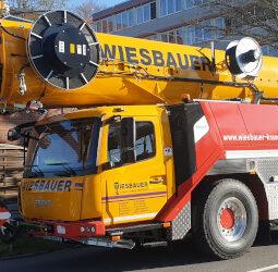 GMK 5150L für Wiesbauer in Plankstadt