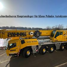 GMK5200-1 mit abnehmbaren Hauptausleger für Klaus Pahnke