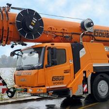 Zweiter GMK 4100L-1 für die BOTT-Gruppe