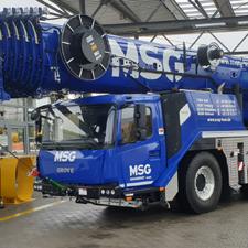 Dritter GMK 5150L für die MSG Krandienst GmbH