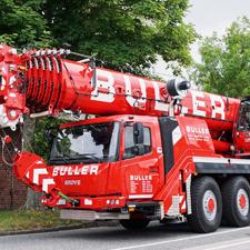Zweiter GMK4100L-1 im Fuhrpark der Josef Buller GmbH