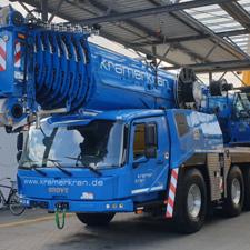 GMK 5250 XL-1 für die Kramer Kran GmbH